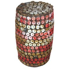 Bottle Top Stool. This may be purchased on ecofirstart.com