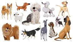 Dogs by Daniel Tarrant