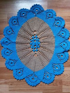 Crochet Doily Patterns, Weaving Patterns, Crochet Squares, Crochet Doilies, Easy Crochet, Knit Crochet, Crochet Table Runner, Crochet Tablecloth, Diy Projects To Try