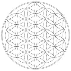 Humanities elements of music worksheet CG: Sacred Geometry: Free Mandala Templates coloring page blank color by music worksheet