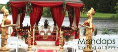 Wedding mandaps Toronto, wedding decoration, Indian wedding decoration