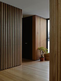 Melbourne based firm, Kennedy Nolan Architects restoration of an inner city home in an highly exposed site bound by street, lane and park on three sides.