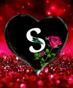 Romantic Love Pictures, I Love You Pictures, Love You Images, Bling Wallpaper, Happy Wallpaper, Heart Wallpaper, S Letter Images, Alphabet Images, Bubble Alphabet