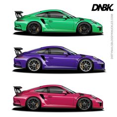 Signal Green won the last round by a slim margin... How about vs some variety like Ultraviolet and Ruby Star? Pick! Prints at Dirtynailsbloodyknuckles.com Link in profile #porsche #911 #porsche911 #991 #gt3 #911gt3 #gt3rs #991gt3 #911gt3rs #rs #gt3 #porschegt3 #991911 #automotiveart #illustration #carart #automotiveillustration #signalgreen #rubystar #ultraviolet #guardsred #pts #painttosample #pts911 #ptsrs #918 #porscheart #porschefans #porschemotorsport