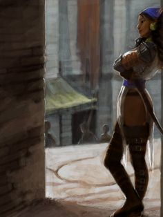 Isabela in Lowtown by characterundefined.deviantart.com on @deviantART