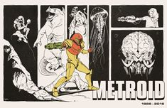 UPDATE:: This piece is available as a print at my Red Bubble storefront, check it out!  www.redbubble.com/people/deimo… -------- Ever since playing the original Metroid for the first ti...