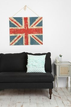 Happy Union Jack Wall Hanging