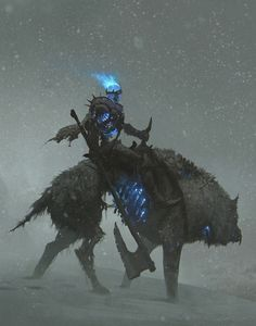 Revenant Beastmaster with his companion