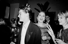 Leonardo DiCaprio, Sharon Stone and Ellen Barkin | Rare and beautiful celebrity photos