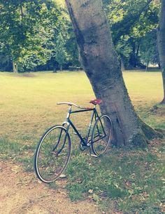 Uraltes oldtimer fahrrad 1904 halbrenner fahrrad gro es for Fachwerkrahmen stahl