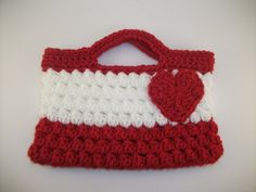 Valentine Heart Purse by jillysboutique on Etsy, $14.00