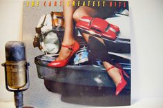 "ON SALE The Cars - ""Greatest Hits"" (Original 1985 Elektra Records with original inner sleeve and ""Let's Go"") - Vintage Vinyl"