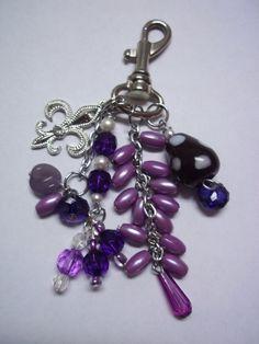 Purse Charm Handbag Charm Key Chain Zipper Pull by EmbracetheMoon