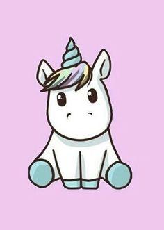 Drawn unicorn kawaii in kawaii unicorn drawing collection - ClipartXtras Unicorn Drawing, Unicorn Art, Magical Unicorn, Unicorn Images, Unicorn Pictures, Kawaii Drawings, Easy Drawings, Animated Unicorn, Unicornios Wallpaper