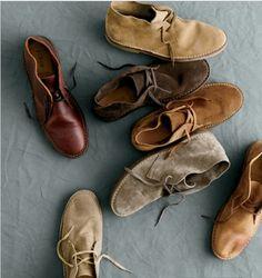 love desert boots on men.