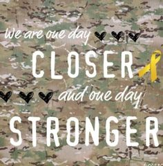 one day closer and one day stronger :)