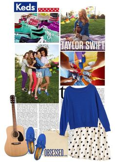 """""""rock out to Taylor Swift with KEDS."""" by enchantedvintagelover on Polyvore"""