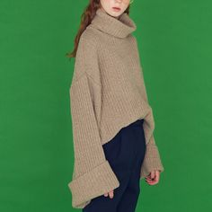 ANOTHER A - wide knit