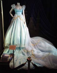 Hollywood Movie Costumes and Props: Disney Dream Portraits fairytale costumes... Original film costumes and props on display