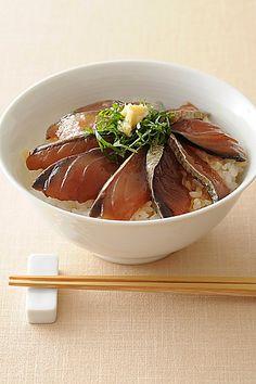 Japanese Saba ( Mackerel ) DONBURI     高知    さば漁師漬け