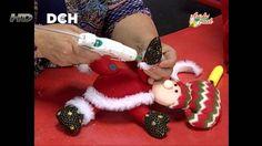 Cojín Navideño - Irma Ramos Reindeer, Snowman, Felt Ornaments, Christmas Ornaments, Christmas Decorations, Holiday Decor, Christmas Time, Elf, Diy And Crafts