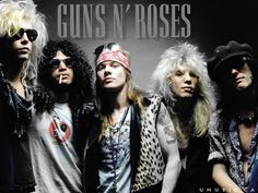 This is the only Guns N Roses. Everything after Adler is facsimile.