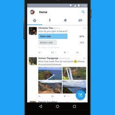 Twitter tiene un nuevo diseño para dispositivos Android