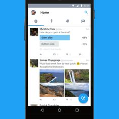 Twitter para Android ganha novo visual baseado no Material Design