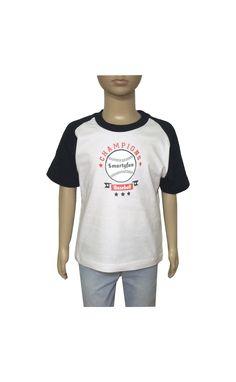 "Camiseta ""Champions"" www.smartyfun.es #baseball #champions #kids #camiseta"