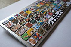 Legend of Zelda Keyboard Decals