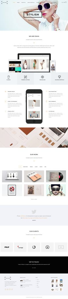 Oshine is a beautiful creative multi-layout, multi-purpose html portfolio theme with 18 unique demos. Great design and Powerful features makes Oshine irresistible. #HTML #Template #Themeforest