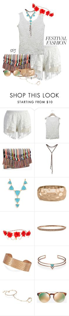 """""""Boho Gypsy Festival"""" by s-p-j ❤ liked on Polyvore featuring Chicwish, Stella & Dot, Lucky Brand, Vera Bradley, Adoriana, claire's, BillyTheTree, FOSSIL, Casato and Valentino"""