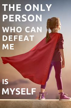 The only person that can defeat me is myself. Feel Good Quotes, Hurt Quotes, Quotes To Live By, Life Quotes, Success Quotes, Positive Words, Positive Quotes, Inspirational Quotes With Images, Uplifting Thoughts