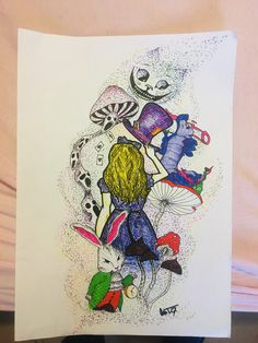 #ink #art Ink Art, Alice In Wonderland, Artwork, Hobbies, Work Of Art, Auguste Rodin Artwork, Artworks, Illustrators, Ink