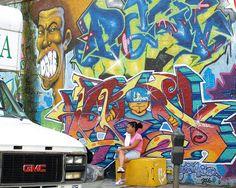 Washington Heights New York   Graffiti Mural, Washington Heights, New York City