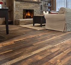 Character Mixed Hardwoods Floor