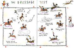 the dressage test