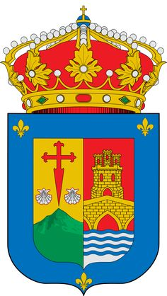 Escudo de la Comunidad Autonoma de La Rioja - España. La Rioja es una comunidad autónoma de España situada en el norte de la Península Ibérica. Abarca parte del valle del Ebro en su zona septentrional y del Sistema Ibérico en el sur. La comunidad es uniprovincial, por lo que no existe Diputación y se encuentra organizada en 174 municipios. La capital es Logroño