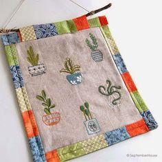 Patterns: Happy Houseplants