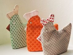 Hens egg warmer sewing tutorial by By Number 19