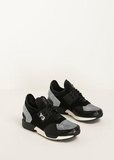 Y-3 Y-3 Zx Zip Sneaker (Black / White)