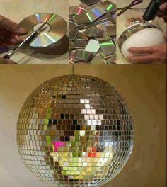 Reciclaje de cd's