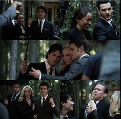 Ending of season 8 Vampire Diaries Stefan, Vampire Diaries The Originals, Tvd Season 8, Vampire Dairies, Damon Salvatore, Ian Somerhalder, The Vamps, Behind The Scenes, Tv Shows