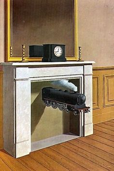 by Rene Magritte -- wonderful surrealist