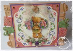 Popcorn the Bear ...........gemaakt door Karin Heiloo