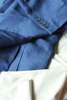 https://www.facebook.com/media/set/?set=a.10153488072294844.1073742502.94355784843&type=3  #fashion #style #menswear #mensfashion #mtm #madetomeasure #buczynski #buczynskitailoring #carnet #jacketing #jacket #tailoring #naturals #hemp #halflined