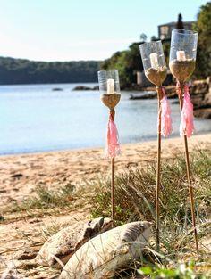 Build House Home: Pop up beach party! diy beach lanterns