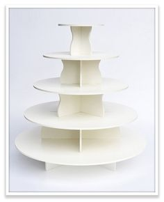 Looking for an awesome cupcake tower, because we're having wedding cupcakes! Yay!