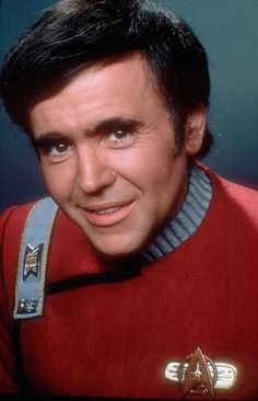Walter Koenig as Commander Pavel Chekov from Star Trek II. - Walter Koenig as Commander Pavel Chekov from Star Trek II. Star Trek Crew, Star Trek Ii, Star Trek 1966, Star Wars, Star Trek Original Series, Star Trek Series, Star Trek Enterprise, Star Trek Voyager, Star Trek Tattoo