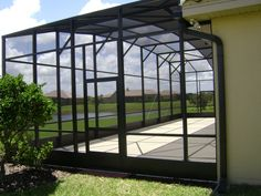 Considering a new pool enclosure? We have been building pool enclosures in Central Florida since Click now to see our work and learn about current specials. Pool Screen Enclosure, Screen Enclosures, Pool Enclosures, Lanai Porch, Screened In Patio, Lanai Design, Patio Design, Small Inground Pool, Pools Inground
